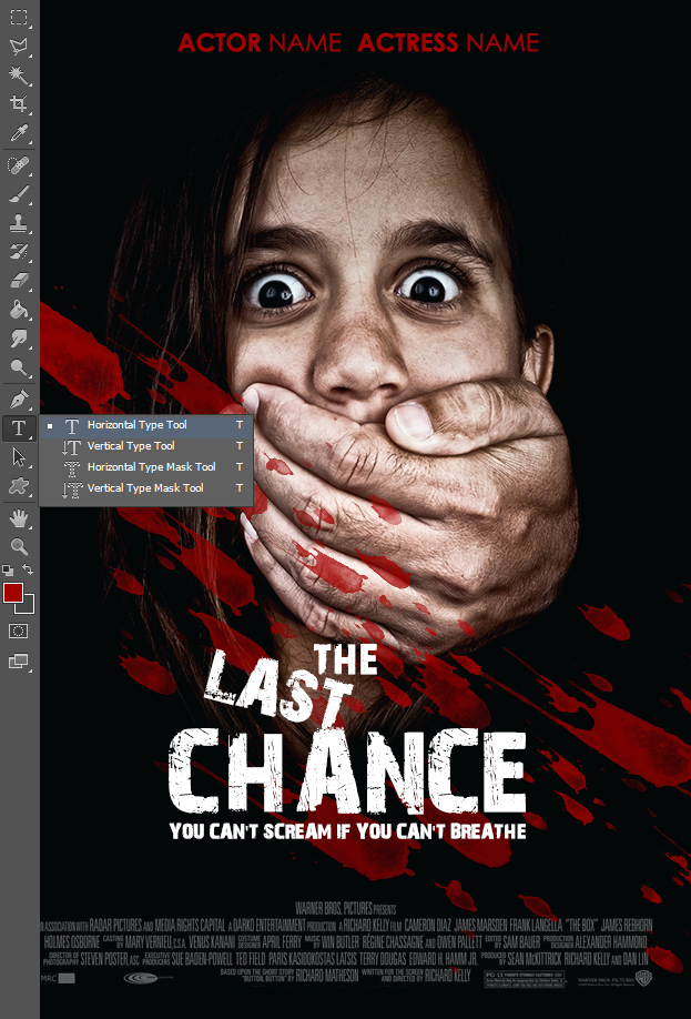 How To Create A Horror Movie Poster From Scratch In Photoshop