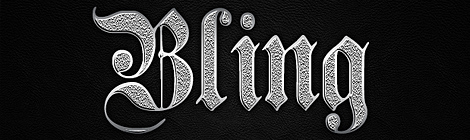 Create a Cool Ghetto Silver Bling Text Style in Photoshop