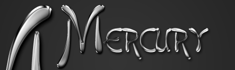 Realistic Mercury Text Effect Photoshop Tutorial