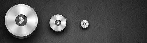 Round Metallic Button Photoshop Tutorial